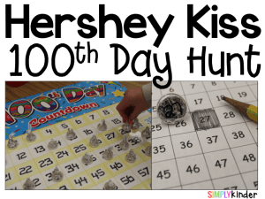 100th Day of School, counting, kindergarten, hundred day hunt