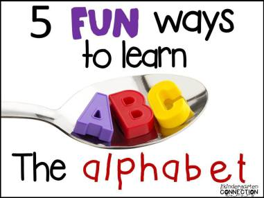 5 Ways to Learn the Alphabet