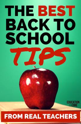 The Best Back To School Tips from Real Teachers!