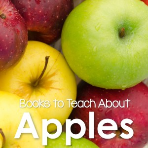 Great books for teaching apples!  Classics and new stories, it's every teacher's go to list for books!