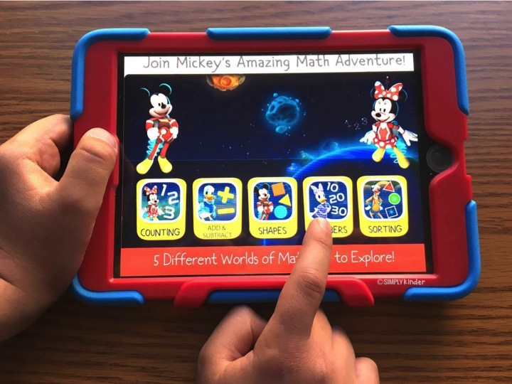 Teachers Love Disney because of the great learning apps they offer.
