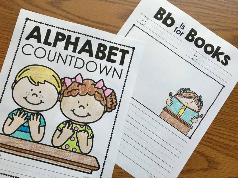 Alphabet Countdown Ideas