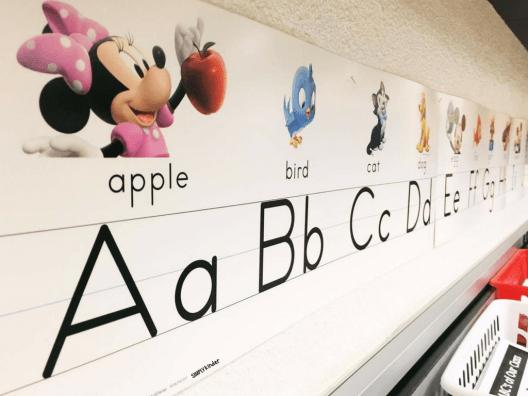 Disney Classroom Decor: Our Disney Alphabet set.