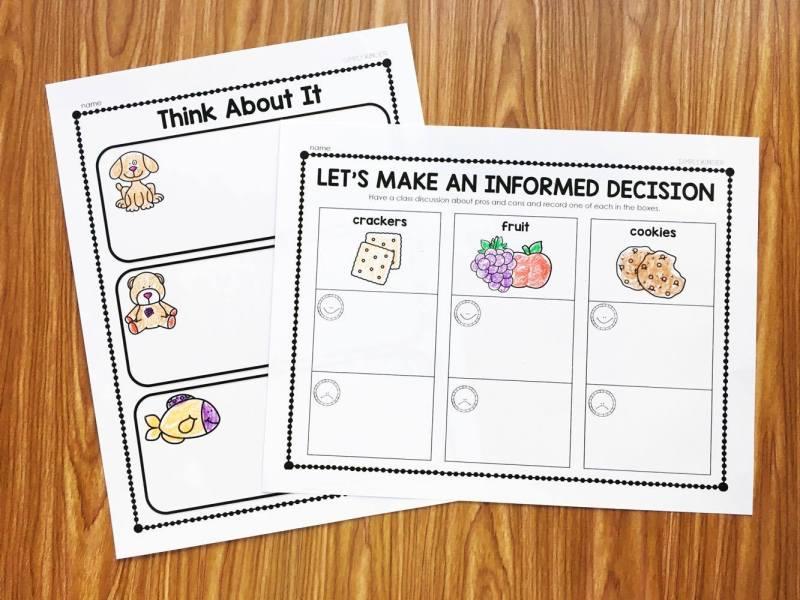 Kindergarten Election Activities