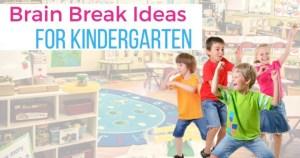 Brain Breaks for Kindergarten