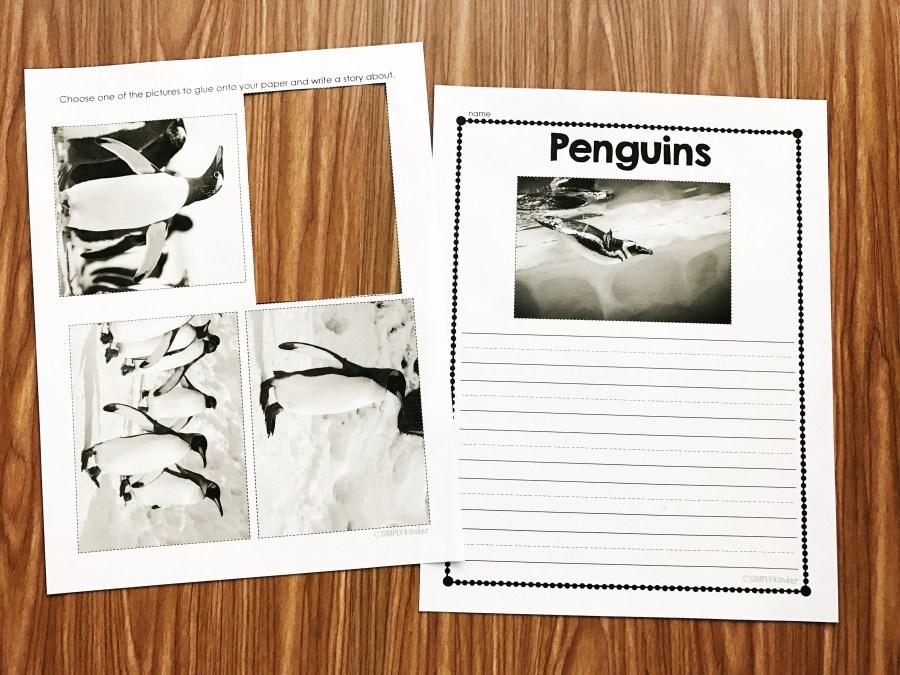 Nonfiction Penguin activities for Kindergarten, Preschool, and first grade students. Penguin Stories