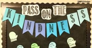 Kindness Bulletin Board Freebie from Simply Kinder