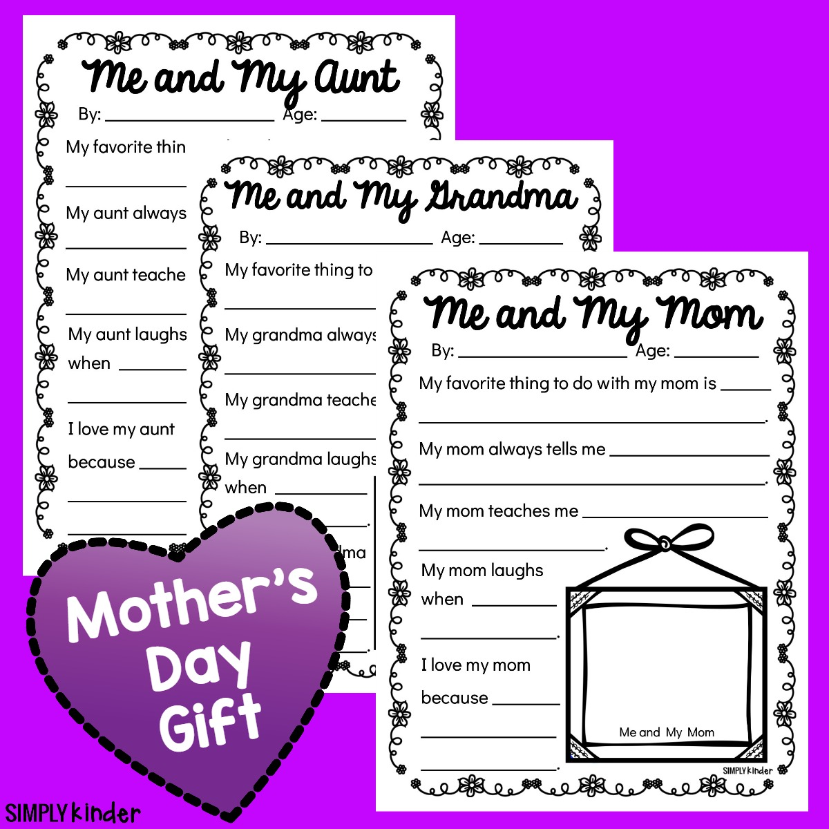 Mother S Day Questionnaires