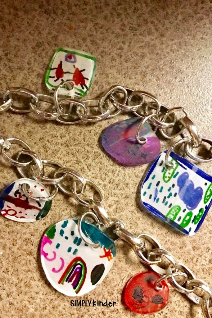 Student drawn necklaces are such a cute end of the year keepsake!