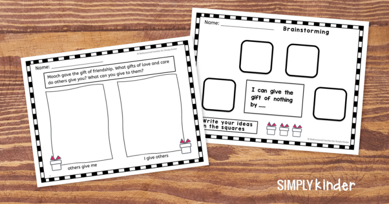 The Gift of Nothing: Simple Writing and Drawing Activities