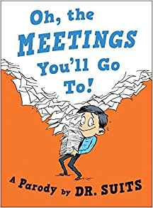 Completely Inappropriate Read Aloud Books Teachers Love - Oh, The Meetings You'll Go To