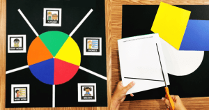 How to make a centers wheel. Use this center wheel to manage your centers!