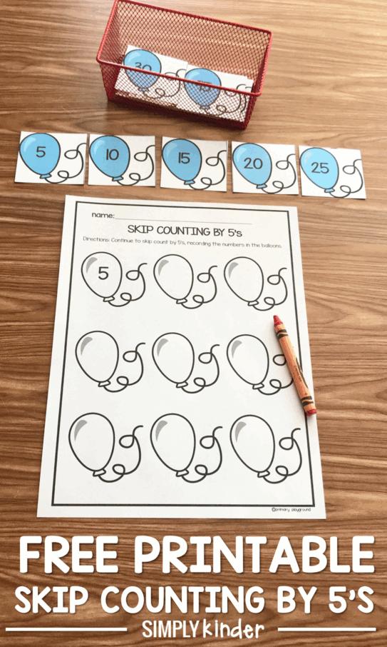 Counting printables skip 2nd Grade