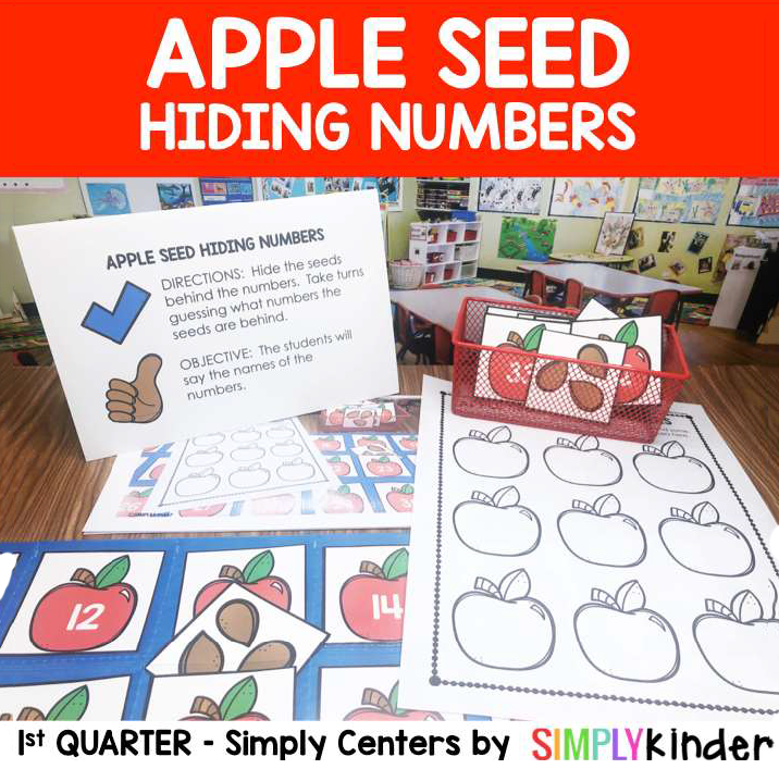 Hiding numbers math game