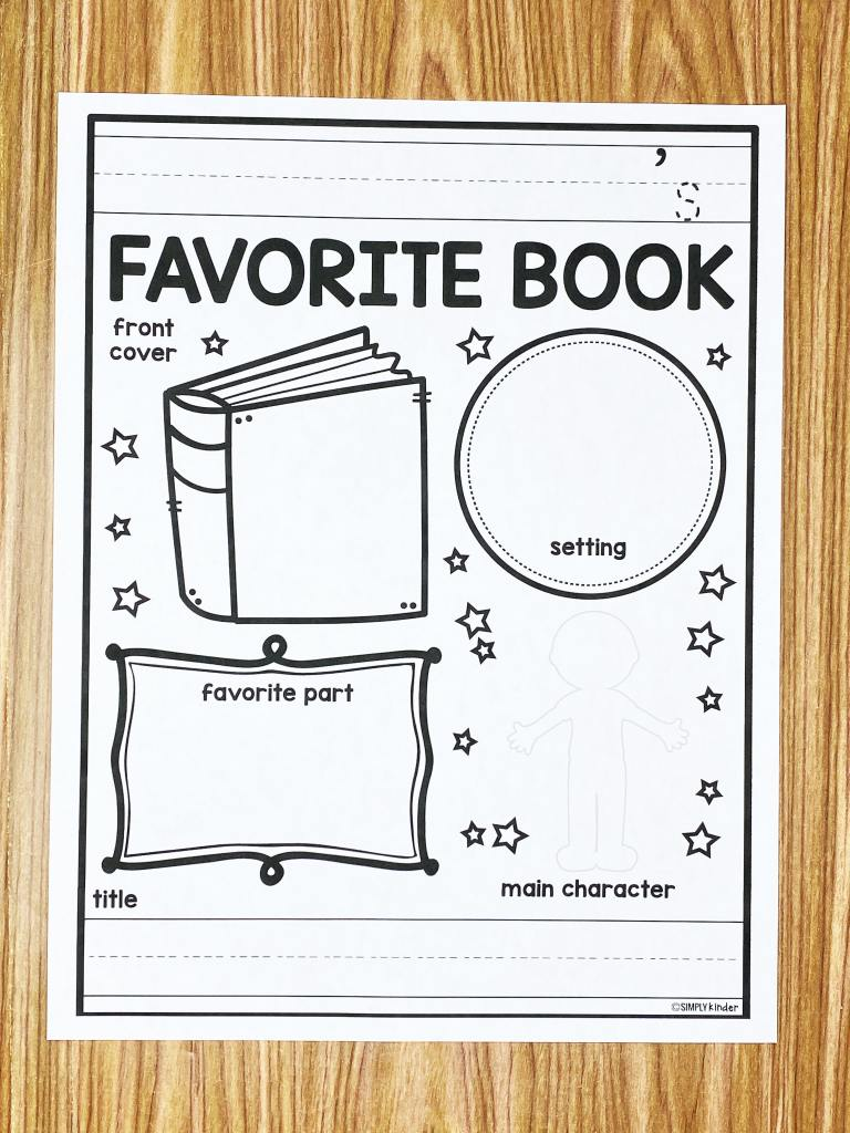 It's no secret that reading books is a staple activity in every great classroom! Here are some Favorite Book Printables for your students to reflect on their favorite book.