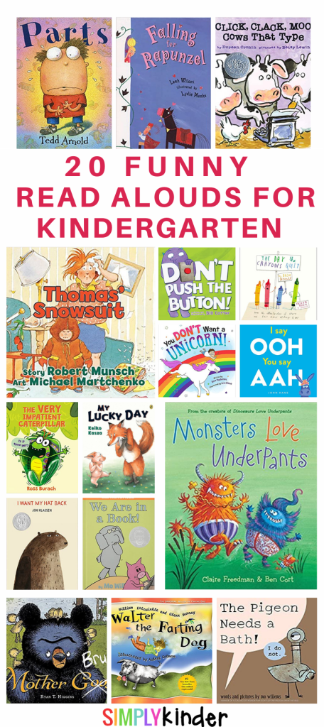 covers of funny picture books