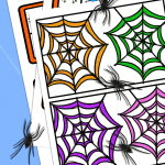 spider counting mat pin