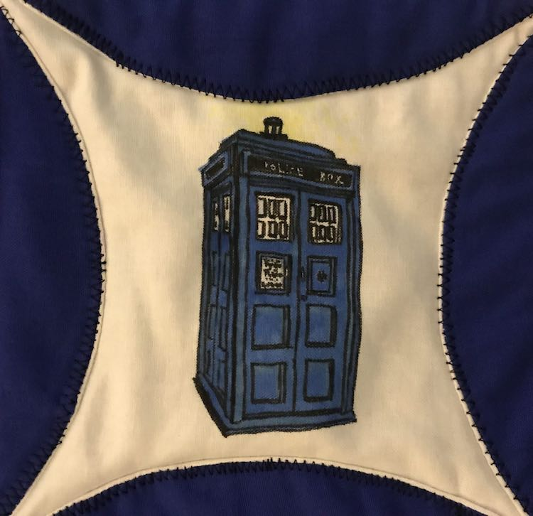 TARDIS a.k.a. Time and Relative Dimension in Space from Doctor Who.