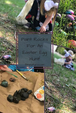 Easter Egg Rock Hunt