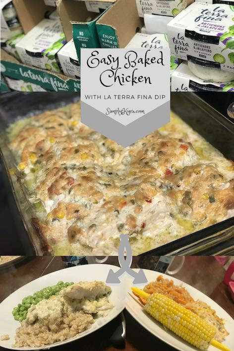 Easy Baked Chicken with La Terra Fina D