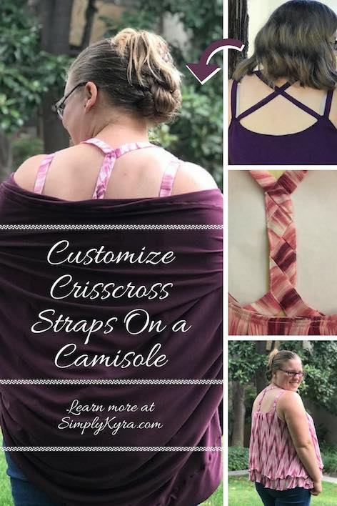 Customize Crisscross Straps On a Camisole