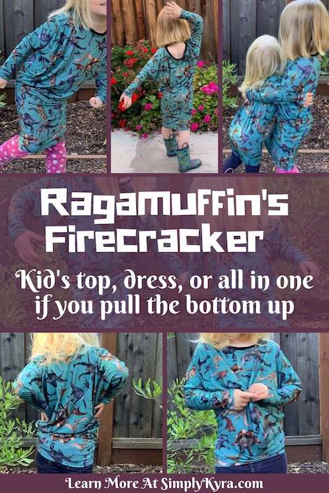 Pinterest image showing multiple views of the Firecracker top. You can see all these images in this blog post below.