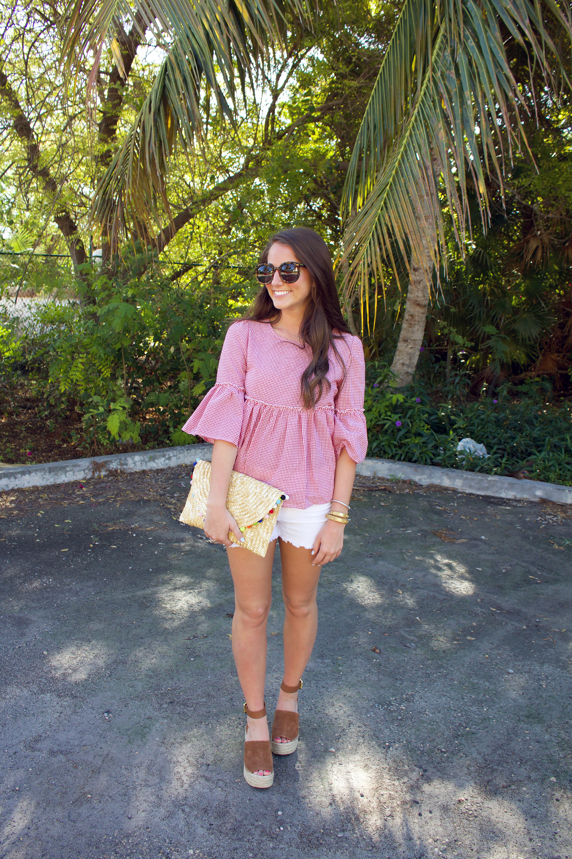 Affordable Gingham Top