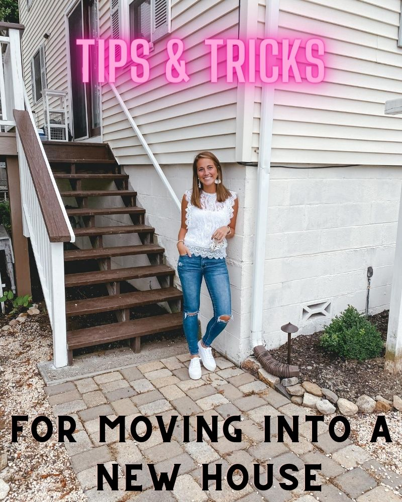 YOUR Tips & Tricks for Moving into a NEW HOUSE