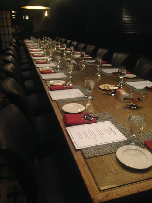 Kilbern's Rehearsal Dinner Area