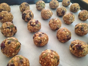Trail Mix Protein Balls