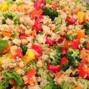 Quinoa Veggie Medley