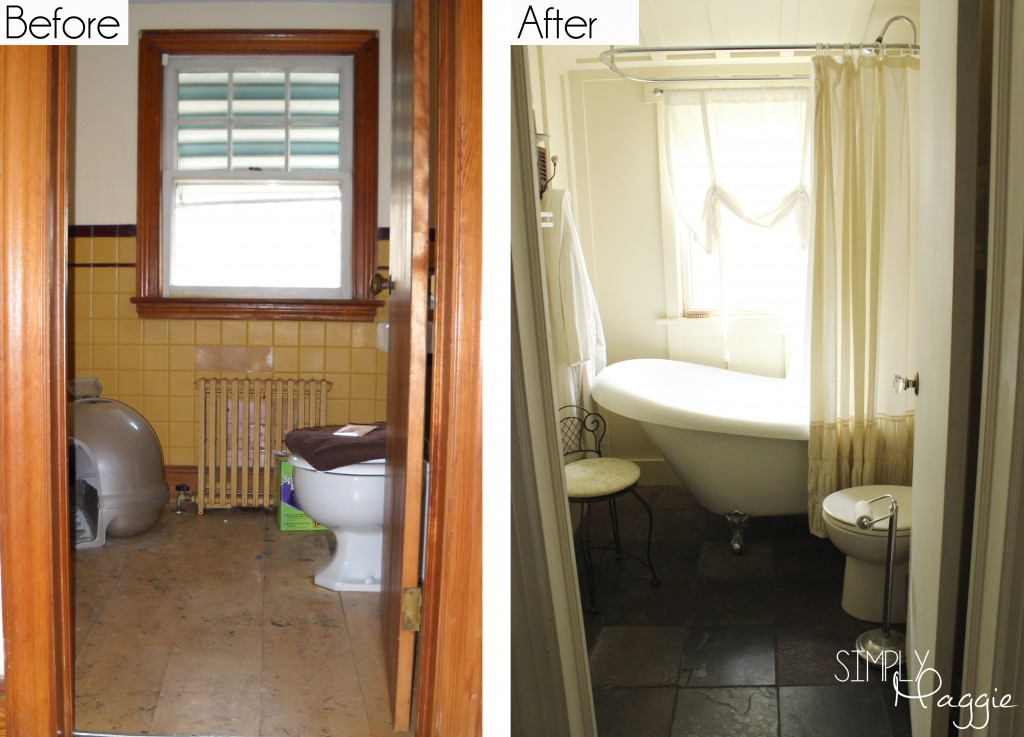 Cottage Bathroom Renovation Before and After