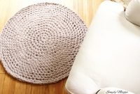 How to Hand Crochet a Large Circular Rug | SimplyMaggie.com