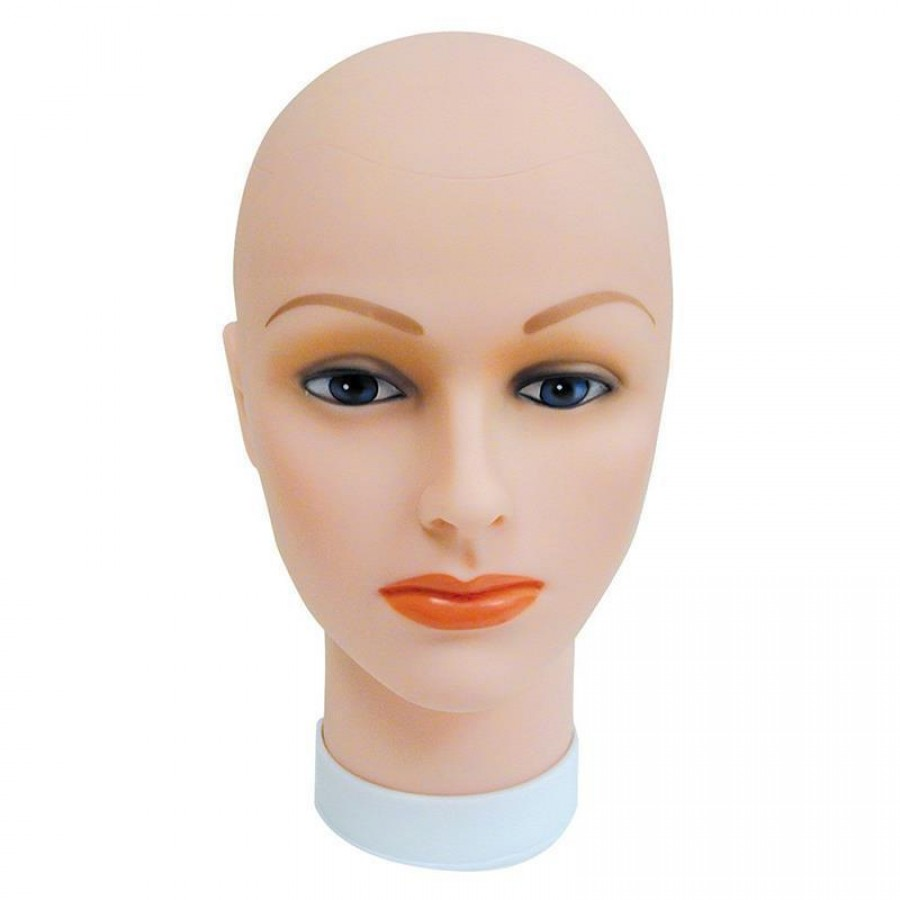 Celebrity Bald Female Mannequin Head SP 400