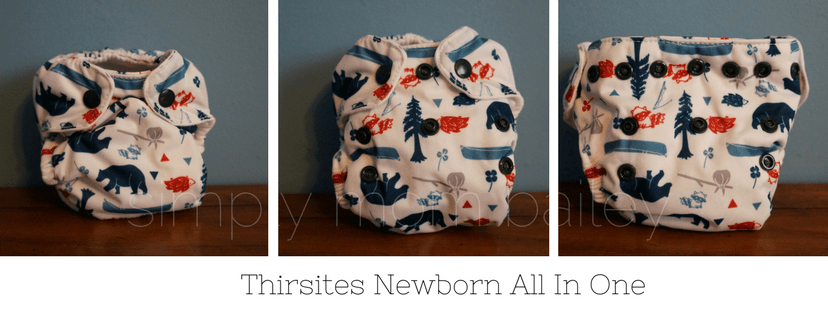Thirsties AIO Newborn Diaper