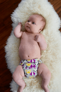 Newborn AIO Cloth Diapers at 12 Pounds kangacare lil joey