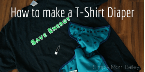 How to make a T-shirt Diaper