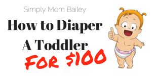 How to Diaper A Toddler