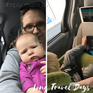 Toddler and Baby Road Trip - Long Travel Days with 2 under 2