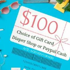 $100 GIVEAWAY to a Cloth Diaper Retailer
