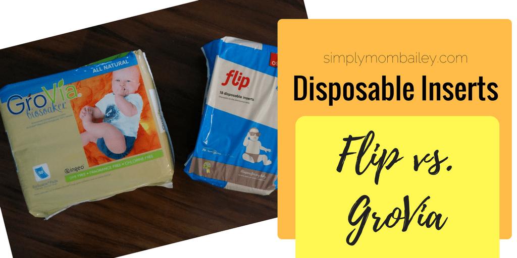 Disposable Inserts - Flip Disposable Insert Versus GroVia Biosoaker - Cloth Diapers