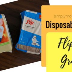 Disposable Inserts: Flip Vs. GroVia Biosoaker {Review}