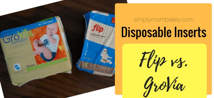 Disposable Inserts: Flip Vs. GroVia Biosoaker {Review}