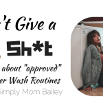 I don't give a Sh*t about Cloth Diaper Wash Routine