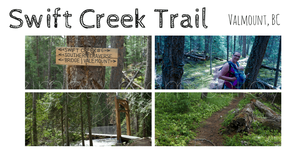 Swift Creek Trail with kids, Valmount, BC, Robson Valley hiking