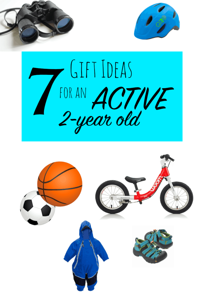 7 Gift Ideas for an Active Toddler - 2 year old gift ideas - hike it baby