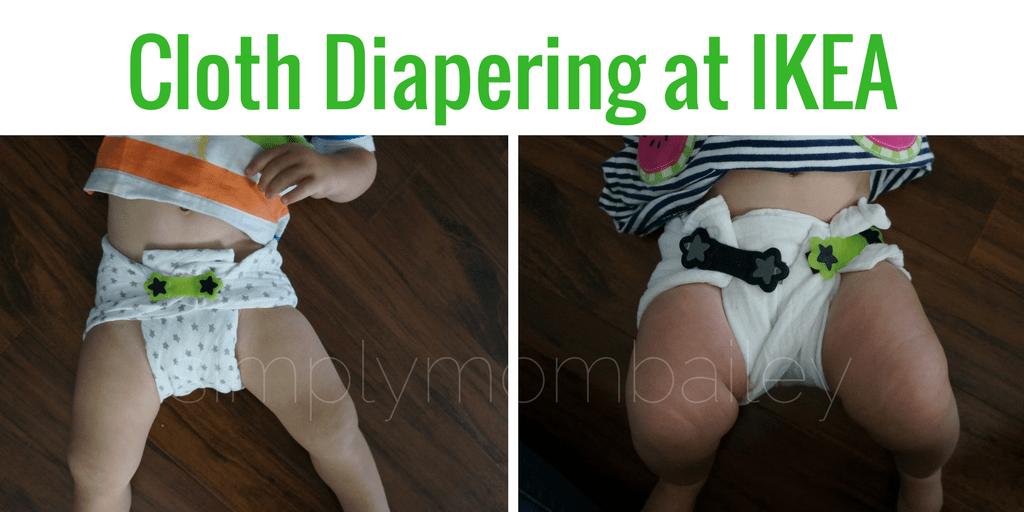 IKEA Cloth Diaper - Himmelsk Burp Cloth - Flat Diapers