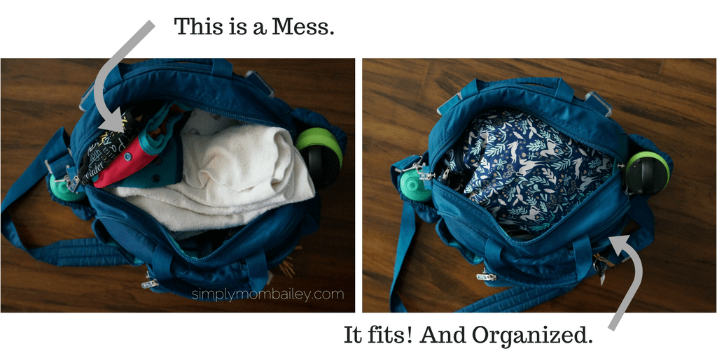 Planet Wise Wet_Dry Bag - Diaper Bag Organization - LUG BAg