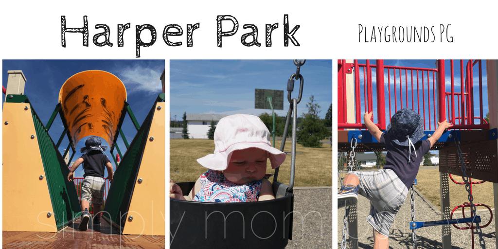 Playground Prince George, BC - Harper Park