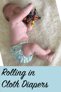 Rolling in Cloth Diapers